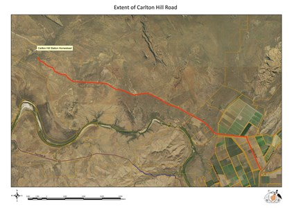 Consultation Image: Carton Hill Road Extent of