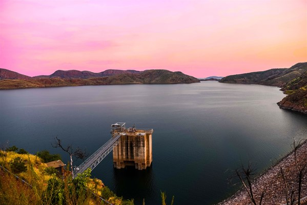 An Award Winning Location - Lake Argyle at Sunset