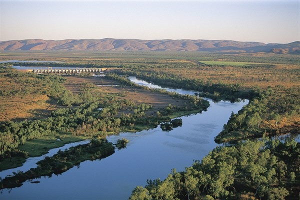 An Award Winning Location - Lower Ord River and the Diversion Dam