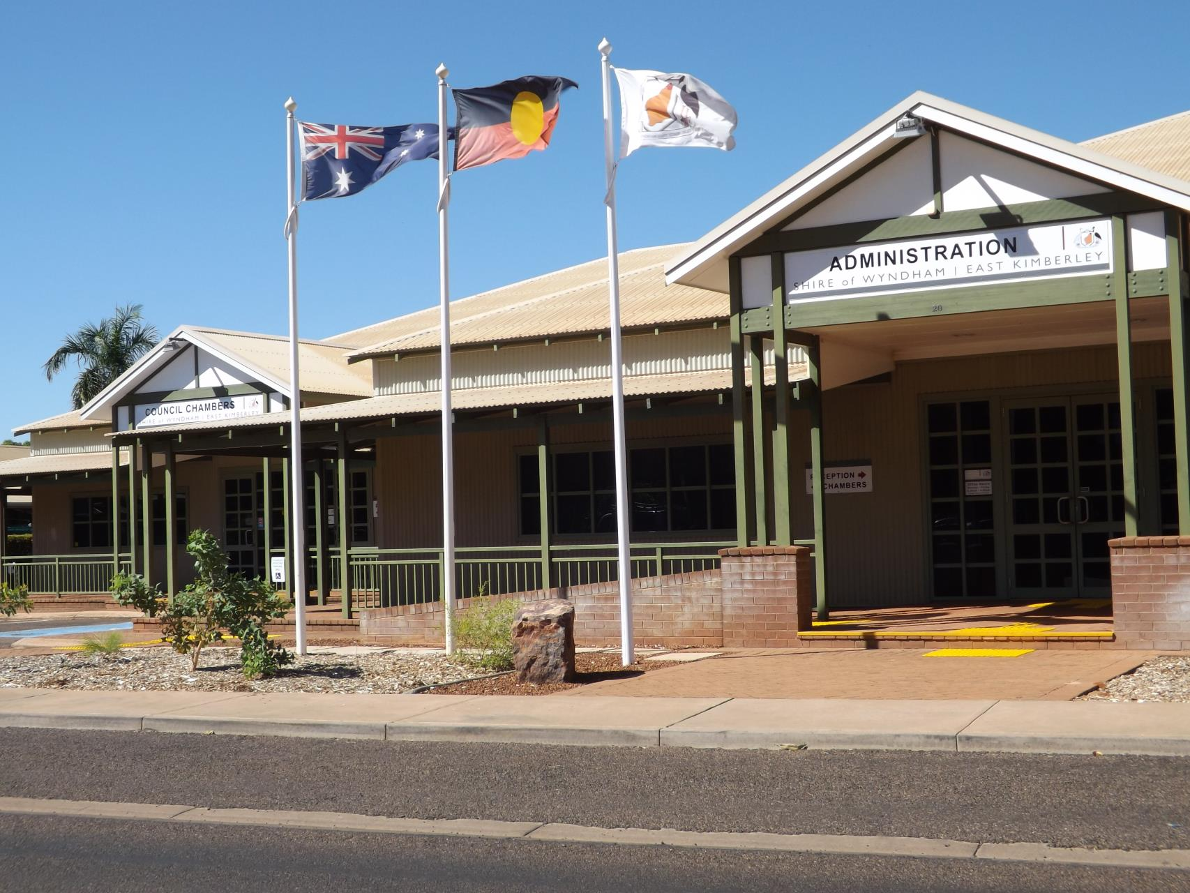 Shire of Wyndham East Kimberley works closely with government agencies
