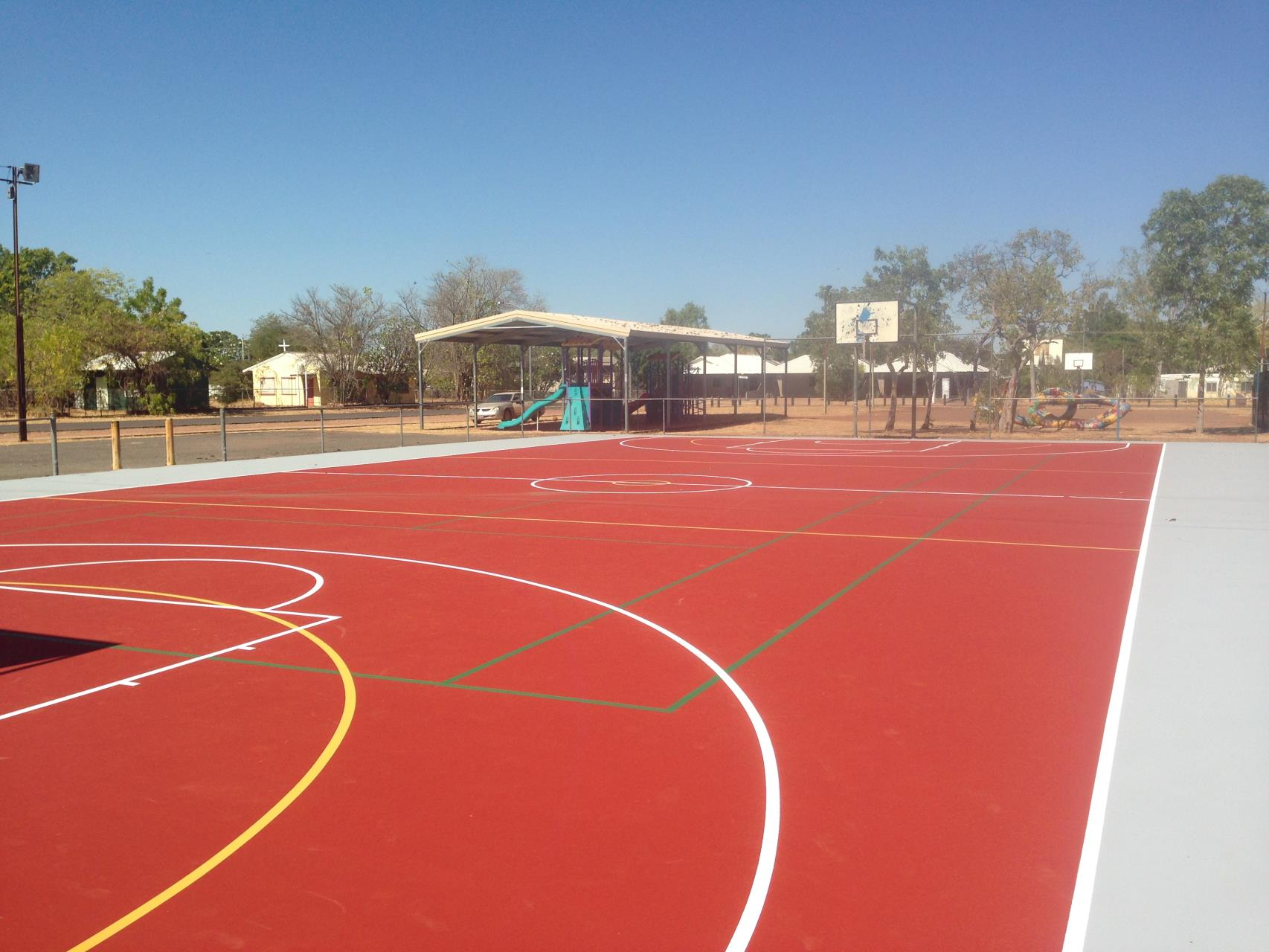 Wyndham Multipurpose Courts - Repairs Completed