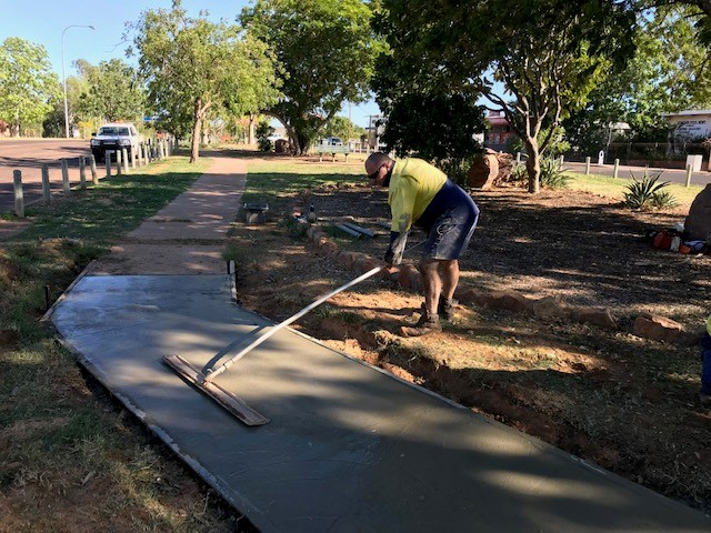 Wyndham Croc Path Footpath Repairs