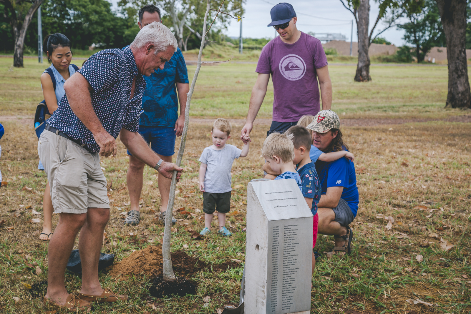 Registrations are now open for the 2019 Baby Tree Program