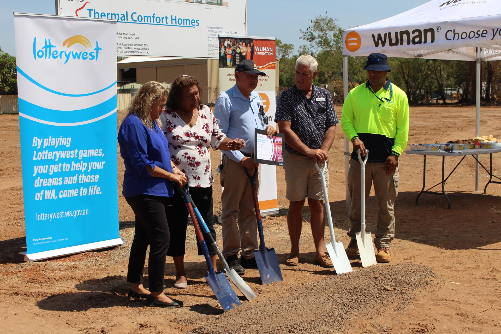 Wunan Sod Turning Ceremony