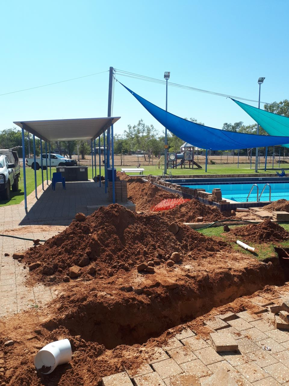 Wyndham Swimming Pool Open