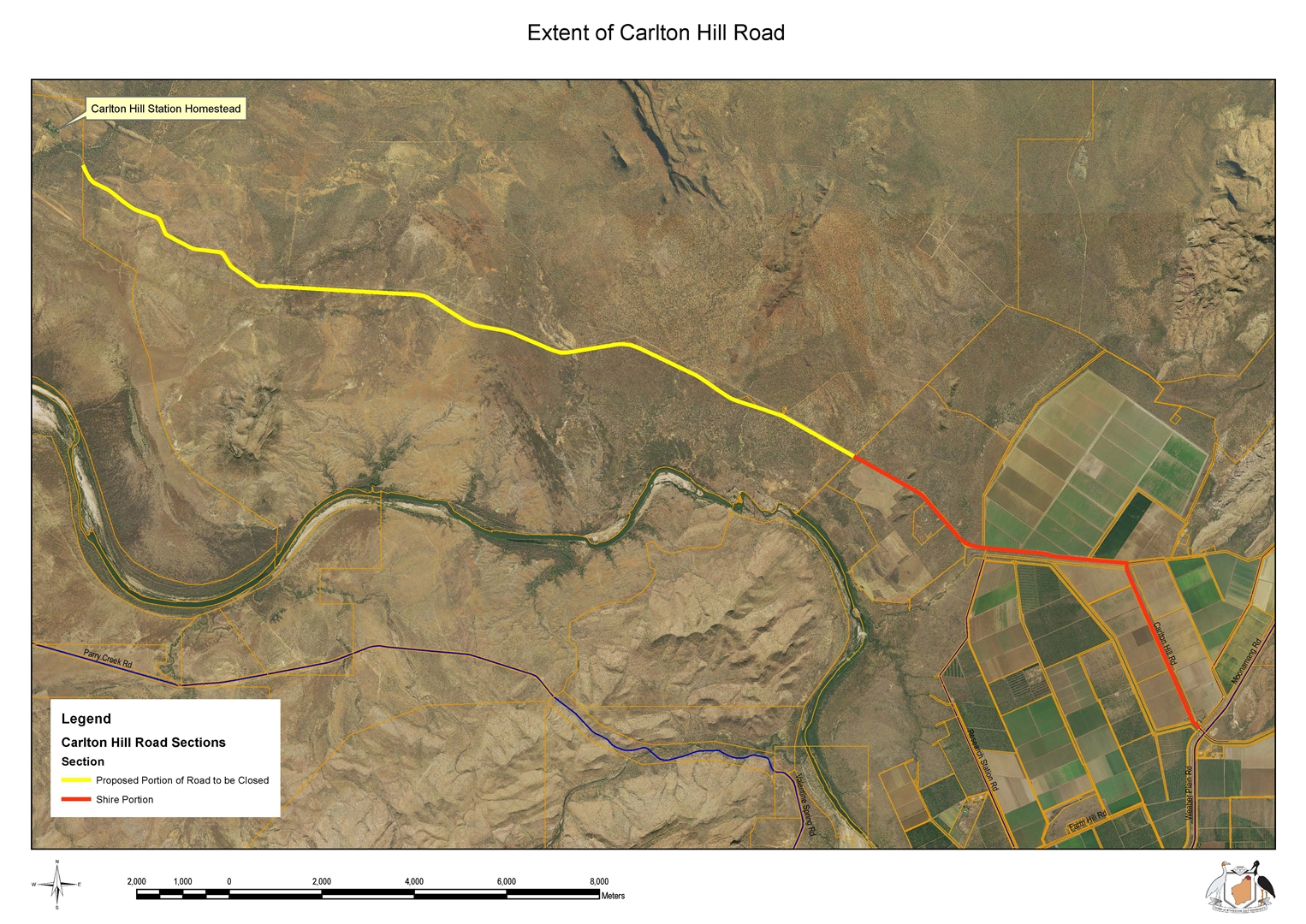Notice of Proposed Road Closure – Carlton Hill Road